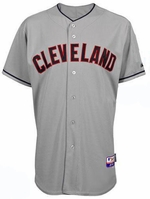 Jason Kipnis Jersey: Cleveland Indians Adult Road Grey #22
