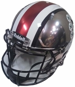 Ohio State Authentic Full Size Chrome Speed Football Helmet