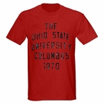 Ohio State J. America Red Progressive Arch T-Shirt