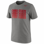 Ohio State Nike Grey Hyper Repeat T-Shirt