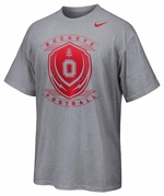 Ohio State Nike Grey Legend Icon T-Shirt