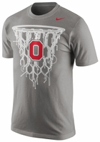 Ohio State Nike Grey Net T-Shirt