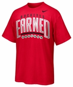 Ohio State Nike Red Dri-Fit Legend Earned T-Shirt
