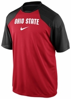 Ohio State Nike Red Fly Slant T-Shirt