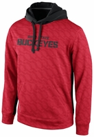 "Ohio State Nike 2013 Red KO ""Buckeyes"" Pullover Hooded Sweatshirt"