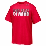 Ohio State Nike Red State of Mind T-Shirt