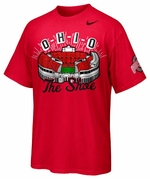 "Ohio State Nike Red ""The Shoe"" T-Shirt"
