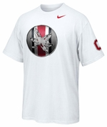 Ohio State Nike White Rivalry Logo T-Shirt