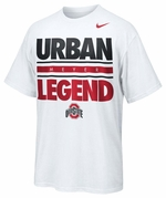 Ohio State Nike White Urban Legend T-Shirt