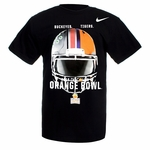 2014 Orange Bowl Nike Black OSU vs. Clemson Helmet T-Shirt