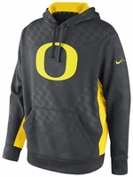 Oregon Ducks Nike Black Lacrosse KO Practice Hooded Sweatshirt