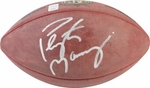 Peyton Manning Autographed Authentic NFL Football