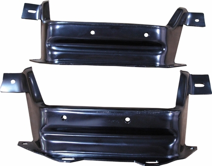 1968-69 Dodge Coronet Rear Bumper Bracket Set