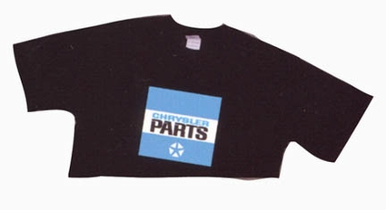 Chrysler Parts, T-Shirt, Small