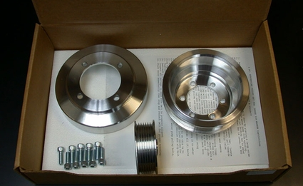 Mopar Performance Magnum Billet Pulley Set