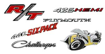 Muscle Car Emblems