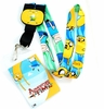 Adventure Time: Finn and Jake Reversible Lanyard with ID holder