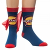 Big Bang Theory: Bazinga Cape Crew Socks