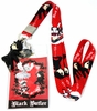 Black Butler: Chibi Sebastian & Ciel Lanyard with ID Holder and Charm