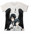 Black Butler: Ciel & Demon Sebastian Sublimation T-Shirt
