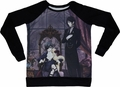 Black Butler: Sebastian and Ciel Raglan Long Sleeve Shirt