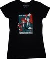 Black Butler: Sebastian and Grell Junior T-Shirt