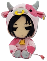 Black Butler: Sebastian Cow Cosplay Plush