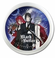 Black Butler: Sebastian, Grell, and Pluto Wall Clock