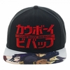 Cowboy Bebop Sublimated Bill Snapback Cap Hat