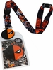 DC Comics Justice League Deathstroke Comic Logo Lanyard with ID Holder