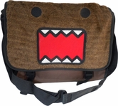 Domo Kun: Domo Fuzzy Plush Canvas Messenger Bag