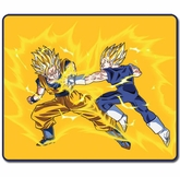 Dragon Ball Z: Super Saiyan Goku Vs Vegeta Throw Blanket