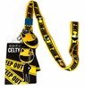 Durarara!! - Celty Keep Out! Lanyard with ID Holder and Charm