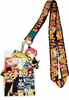 Fairy Tail Chibi SD Group Lanyard with Badge ID Holder & Natsu Charm