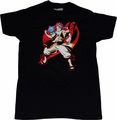Fairy Tail: Natsu and Happy Guild Emblem Black T-Shirt
