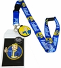 Fallout Lanyard with ID Holder and Vault Boy Charm