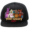 Five Nights At Freddy's Black Snapback Cap Hat