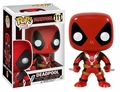 Funko POP Marvel Deadpool Two Swords Vinyl Bobble-Head Figure