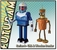 Futurama: Series 9 Action Figure Set of 2 - Wooden Bender and URL