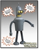Futurama: Talking Bender Action Figure