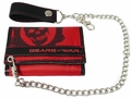 Gears Of War: Crimson Omen Wallet with Chain