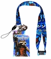 Guardians of the Galaxy: Rocket Racoon Lanyard with ID Holder & Charm