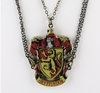 Harry Potter: Gryffindor Coat of Arms Friendship Necklace