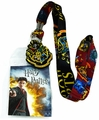 Harry Potter Hogwarts Lanyard Badge ID Holder and Charm