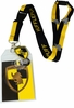 Harry Potter Hufflepuff School Lanyard with ID Holder and Metal Charm