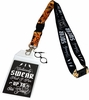 Harry Potter I Solemnly Swear Script Lanyard with ID Holder & Charm