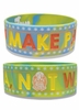 Hetalia: Italy Make Pasta Not War PVC Wristband