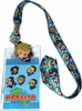Hetalia World Series: SD Group Lanyard with ID Holder & America Charm