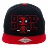Marvel Deadpool Pixel Snapback Cap Hat