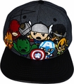 Marvel Kawaii Group PU Bill Snapback Cap